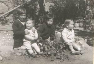 Lousa: João, eu, Ana Teresa e Andreia